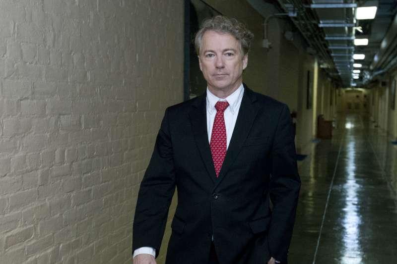 共和黨肯塔基州參議員保羅(Rand Paul),關閉聯邦政府的人(AP)