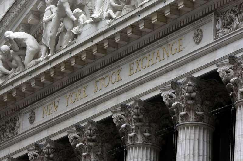 紐約華爾街。(美聯社)