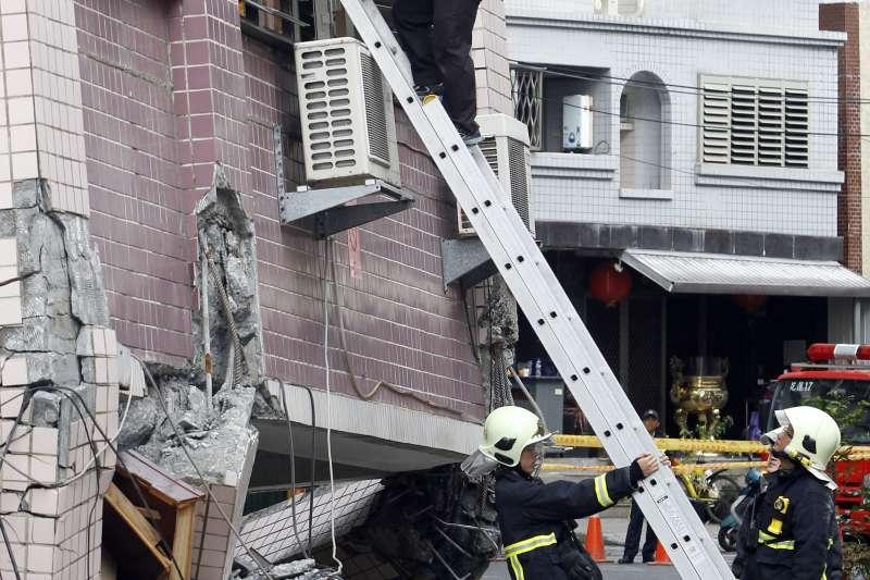 花蓮地震,有9名大陸遊客不幸遇難。(AP)