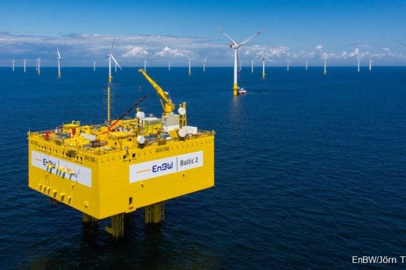 2018-02-12-德國電力公司EnBW將入股海鼎3座風場。離岸風力。離岸風電。(上暐新能源提供)