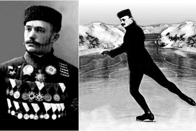 尼古拉•帕寧•科洛緬金以花式滑冰為俄羅斯奪下史上第一面奧運金牌。(圖/澎湃新聞提供)