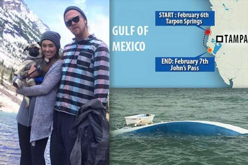 日前一對情侶傾家蕩產買了一艘船,要環遊世界。沒想到出航第二天就沉了,但他們還是堅持要完成夢想。或許外人看來,這對情侶根本「腦袋有洞」,但她卻認為現在的自己,也會做一樣的選擇...(圖/News 24h@youtube)