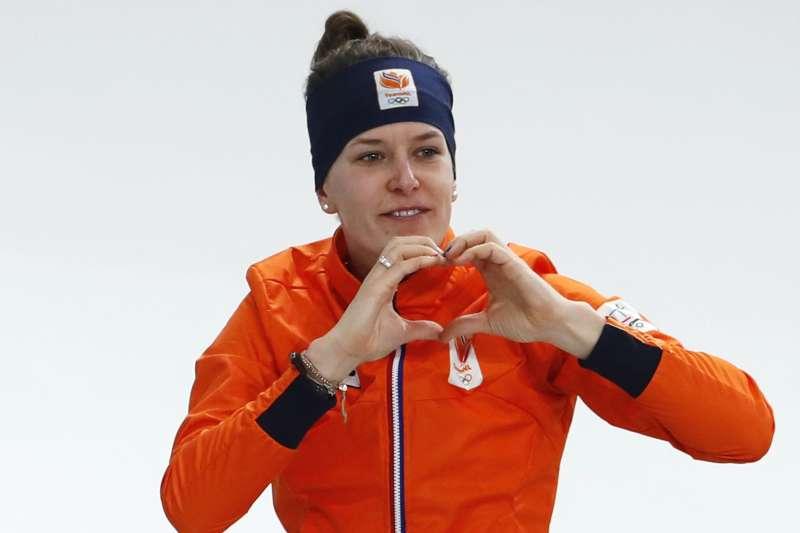 荷蘭競速滑冰選手伍斯特(AP)