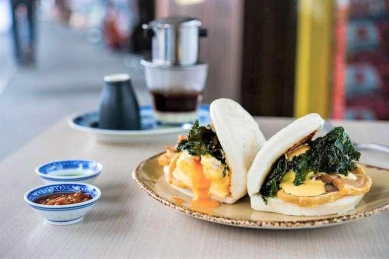 早午餐不該只有歐美料理的形式!澳洲布里斯本當地餐廳推出各種亞洲料理早午餐,以中式、越式、印尼式等多種亞洲風格豐盛美味,吸引消費者前往光顧。(圖/食力提供)