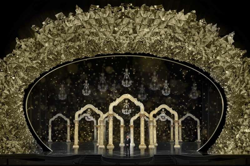 第90屆奧斯卡金像獎頒獎典禮舞台設計(AP)