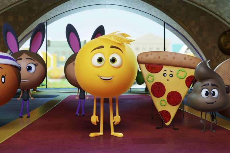 2018年金酸莓獎(Razzie Awards)最爛電影《表情符號電影》(The Emoji Movie)(AP)