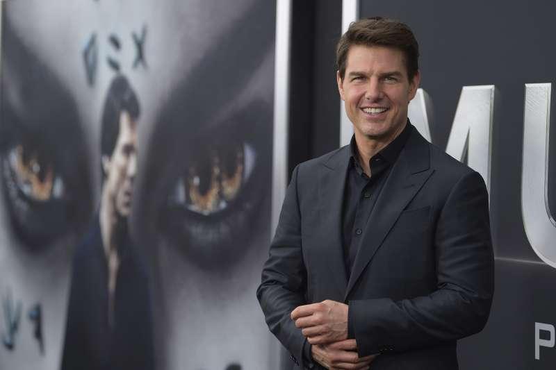 2018年金酸莓獎(Razzie Awards)最爛男主角湯姆克魯斯(Tom Cruise)(AP)