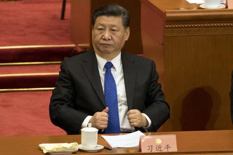 2018年中國全國兩會,全國政協十三屆一次會議3月3日率先登場,習近平(AP)
