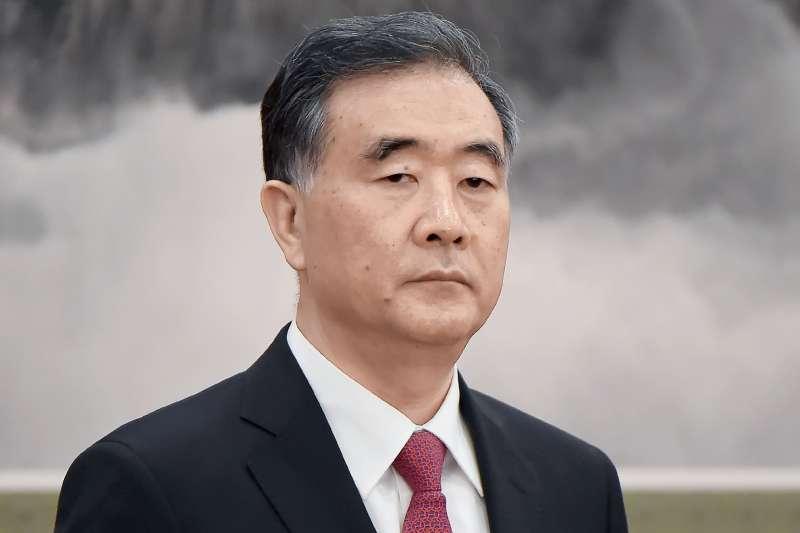 中共十九大中央政治局常委汪洋曾表示,「當前及今後一個時期台海形勢更加複雜嚴峻,對台工作面臨風險挑戰」(多維TW提供)