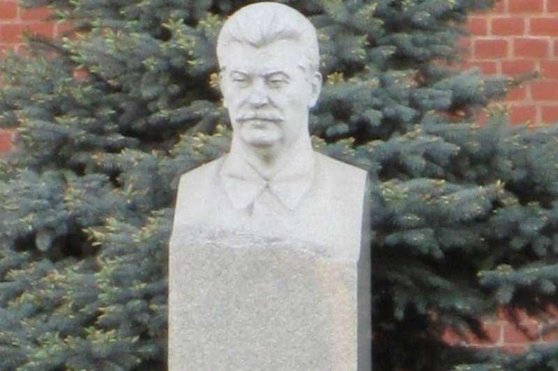 莫斯科紅場克里姆林宮之外的史達林墓。(美國之音)