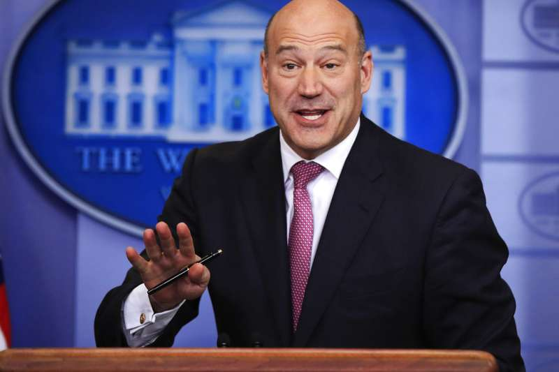白宮首席經濟顧問科恩請辭。(美聯社)