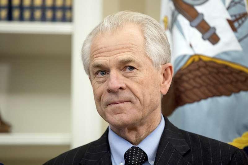 川普貿易戰頭號旗手、白宮國家貿易委員會(NTC)主任納瓦羅(Peter Navarro)(AP)