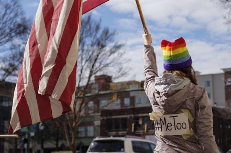 美國好萊塢引爆的「#Me Too」運動不斷延燒,演變成全球性的終止性別暴力運動。(美聯社)