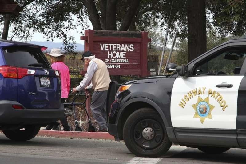 美國加州一間退伍軍人之家9日發生一起槍擊案,造成4人死亡。(AP)