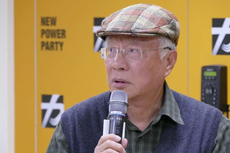 前羅東聖母醫院長陳永興表示,盼民進黨在宜蘭可以突破困境,否則他會建議,縣長給時代力量選好了。(時代力量提供)