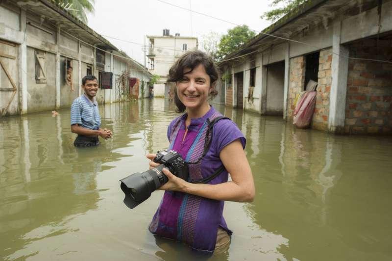維塔爾獲提名競逐今年世界新聞大獎。(圖/翻攝自Ami Vitale官網)