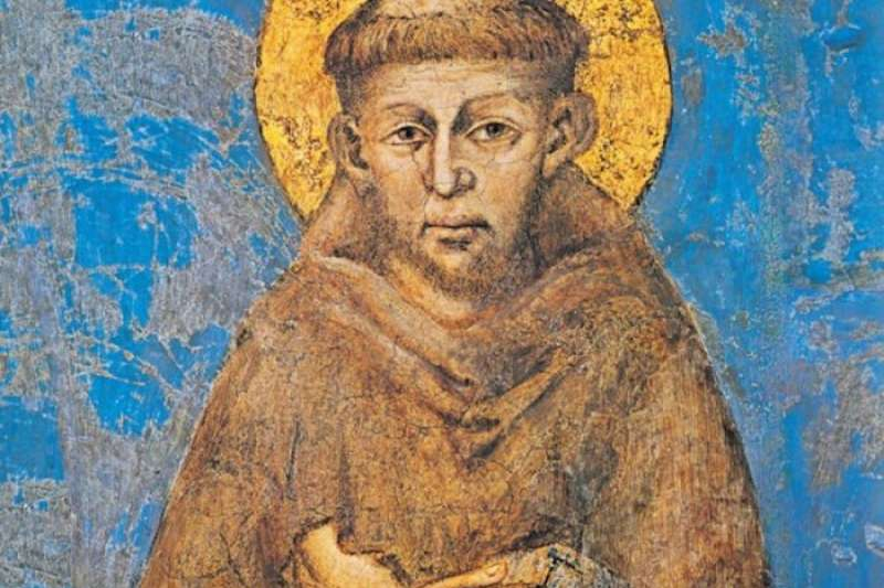 方濟各會的聖方濟各。(維基百科)