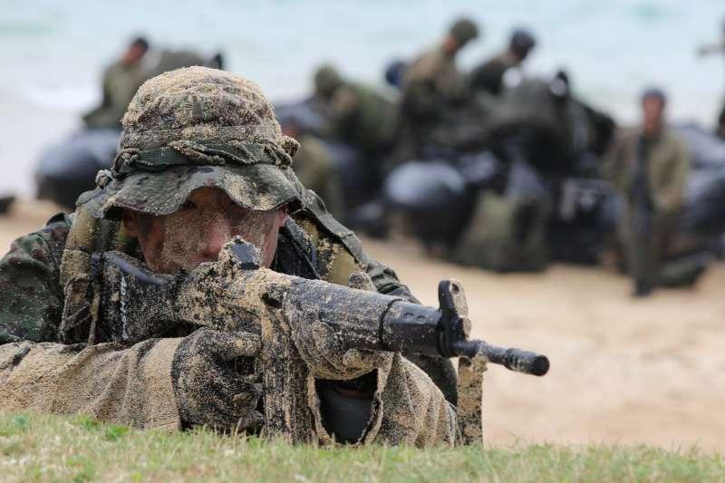日本陸上自衛隊隊員。(陸上自衛隊官網)