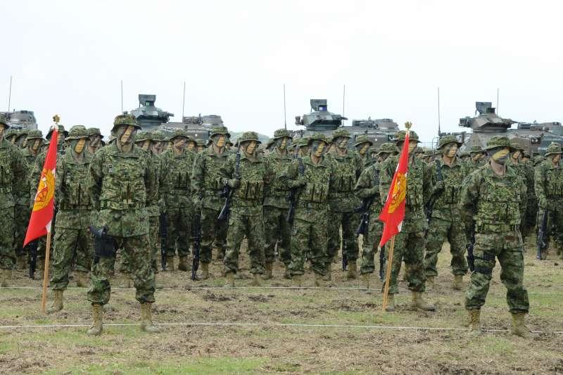 陸上自衛隊的水陸機動團。(日本陸上自衛隊官網)