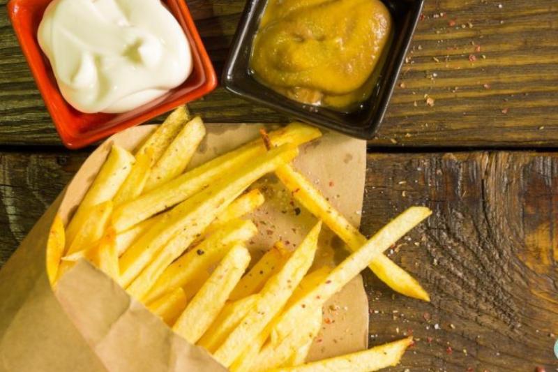 薯條變綠色,吃了會中毒嗎?(圖/食力提供)