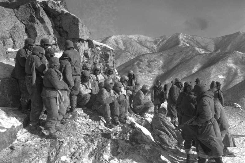 韓戰,被俘的中國人民志願軍士兵(維基百科/公有領域)