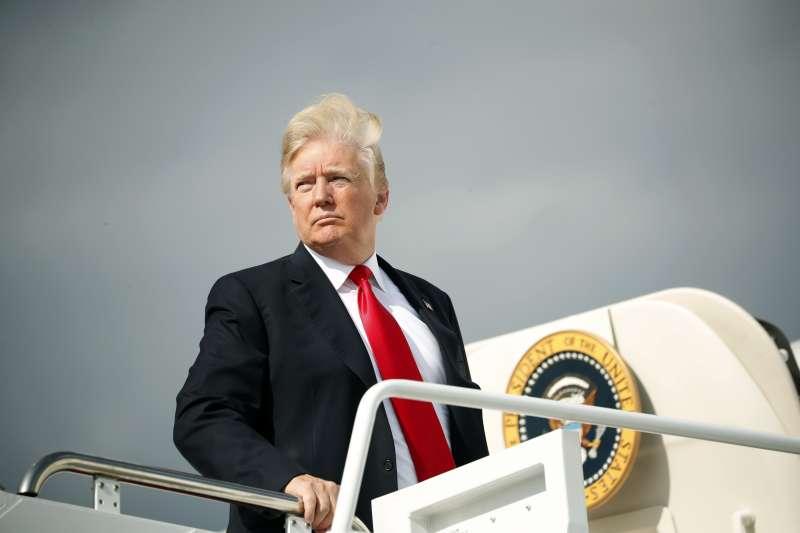 美國總統川普表示,朝鮮半島無核化是川金會首要目標(AP)