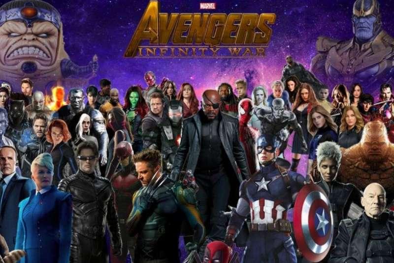 近日漫威的《復仇者聯盟3》席捲全球票房,成績傲視DC系列英雄電影。究竟為何以前遙遙領先的DC,會漸漸輸給漫威呢?(圖/林富元提供)