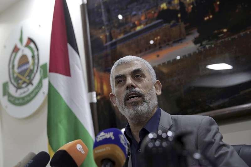 巴勒斯坦哈瑪斯領袖辛瓦(AP)