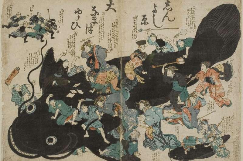 在地震頻繁的日本,數百年前就有獨特的地震傳說。(圖/故事提供)
