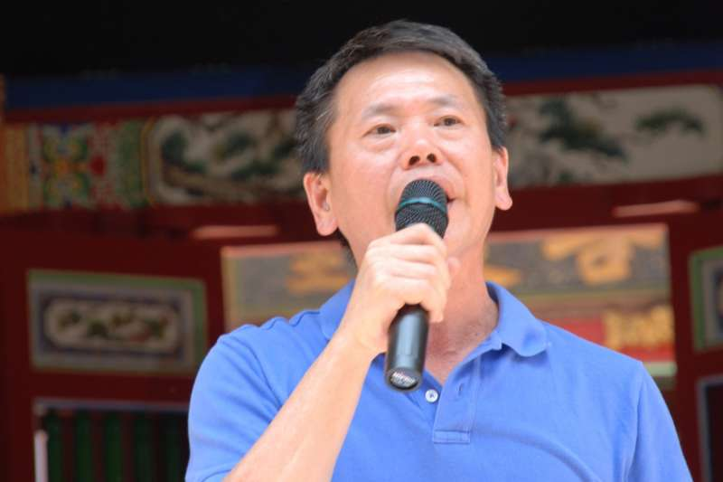 國民黨立委林為洲表示,自下周起委託民調中心進行全民調。(資料照,新竹縣林姓宗親會提供)