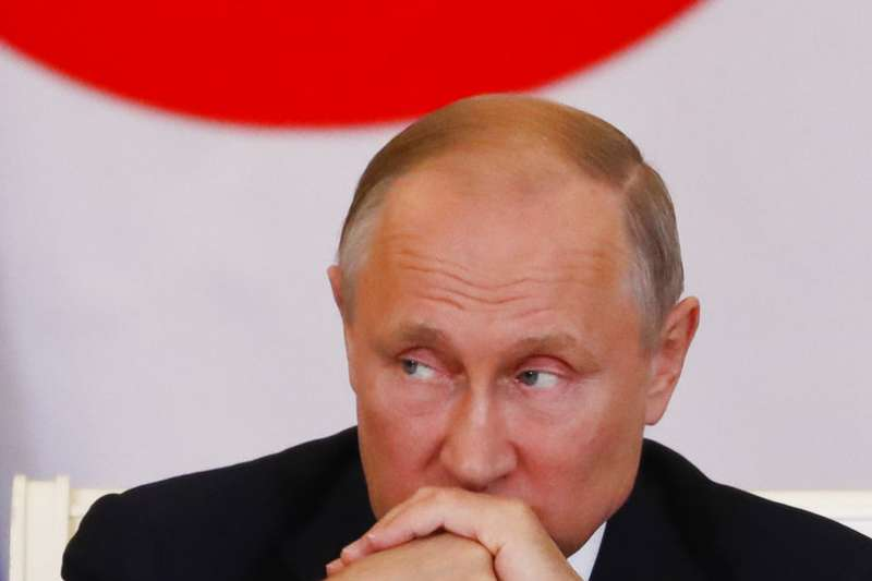 俄羅斯總統普京不支持性騷擾者發聲的「我也是」(#MeToo)運動,還質疑#MeToo運動為什麼現在才發生?(美聯社)
