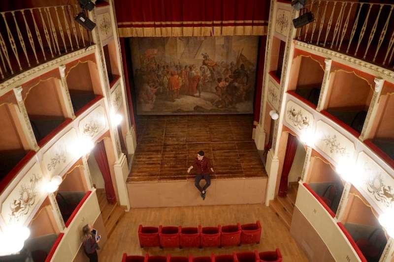 帕尼卡雷劇院。(曾廣儀攝)