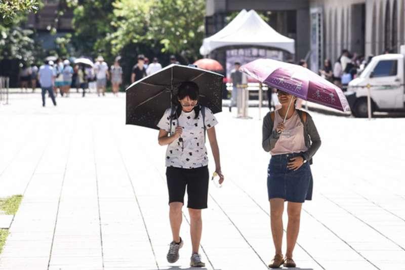 連日炙熱高溫讓走出戶外成為一種煎熬。(示意圖/國軍退除役官兵輔導委員會@flickr)