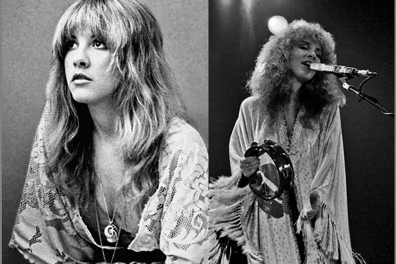 美國搖滾樂女歌手Stevie Nicks。(圖/後製,原圖取自wiki)