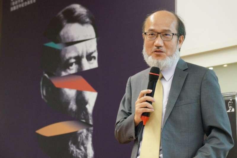 成大副校長、前政大哲學系教授林從一。(取自成功大學官網)