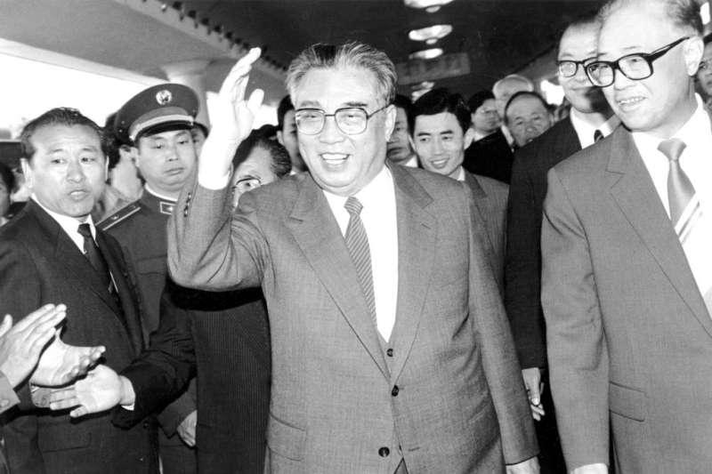 北韓第一代領導人金日成。(AP)