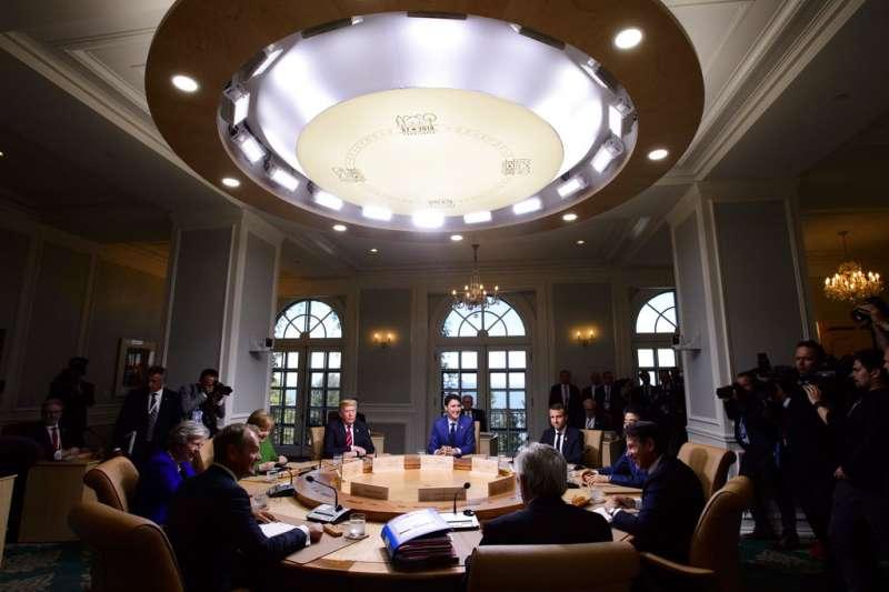 G7峰會。(AP)
