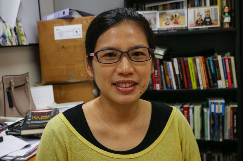 新加坡南洋理工大學國際研究學院助理教授李佳怡。(新加坡特派小組攝)