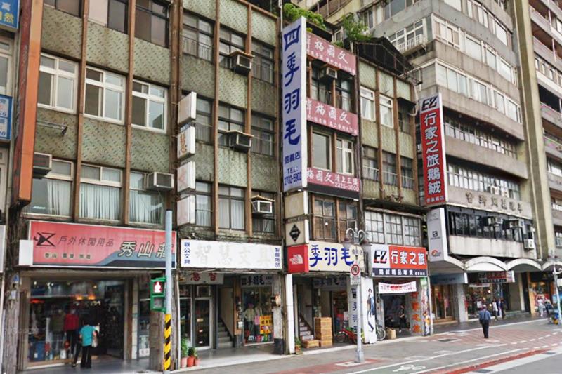 信義路三段的「戶外用品一條街」因AIT而興起。(圖/取自gooogle地圖)