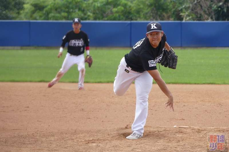 入選世大棒中華培訓隊的投手蔡易廷,是國內少見的蝴蝶球投手。 (圖片取自野球少年粉絲團)