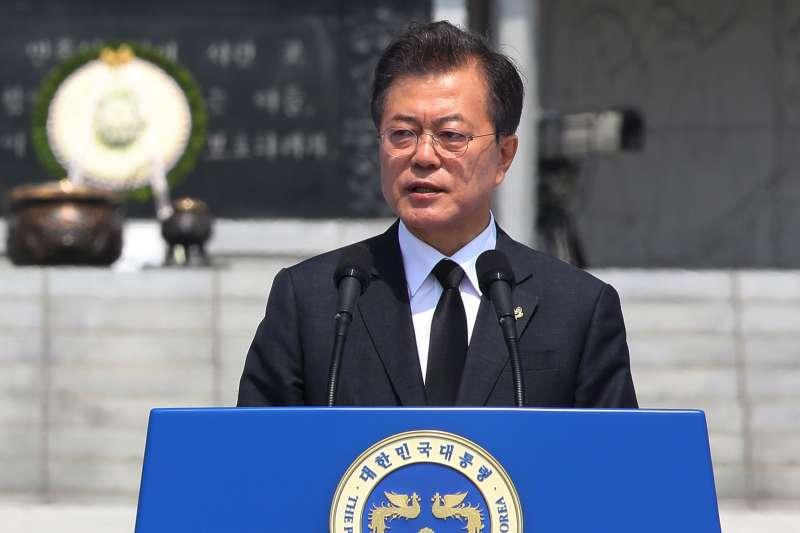 南韓總統文在寅(AP)