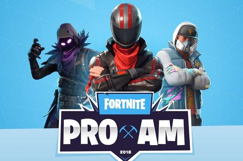 《要塞英雄》在今年美國E3電玩展舉辦「Pro-Am」慈善賽事,正式開啟《要塞英雄》的電競之路。 (截圖自要塞英雄官網)