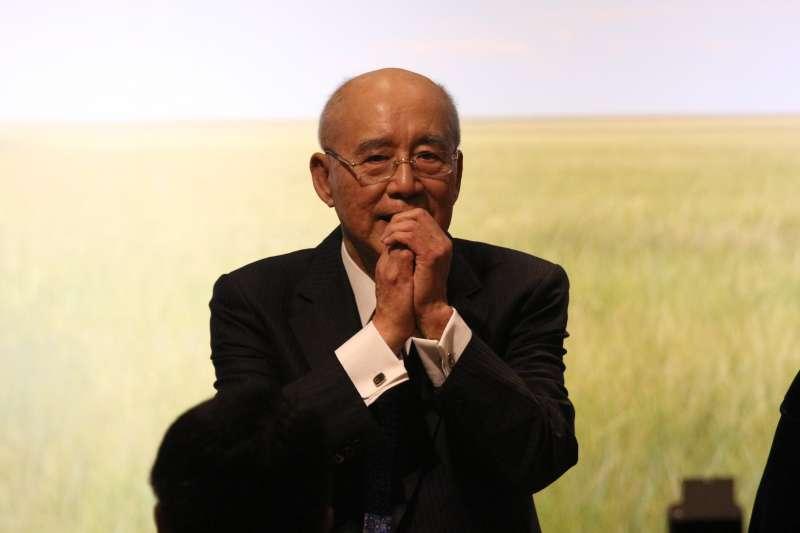 20180619-國民黨前主席吳伯雄八十大壽感恩餐會。(陳韡誌攝)
