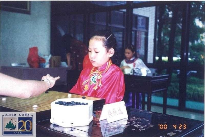 1999年謝依旻參加女子賽。(海峰棋院)