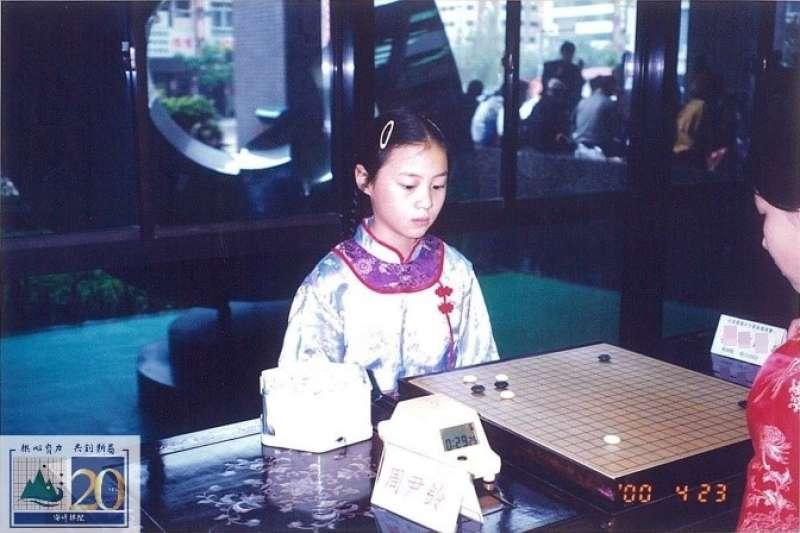 1999參加女子賽 (黨希昀職業二段)。(海峰棋院)