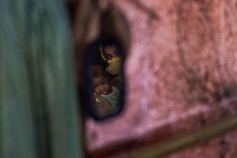 羅興亞婦女D為了墮胎,吞下無數顆墮胎藥,直到大量出血。(美聯社)
