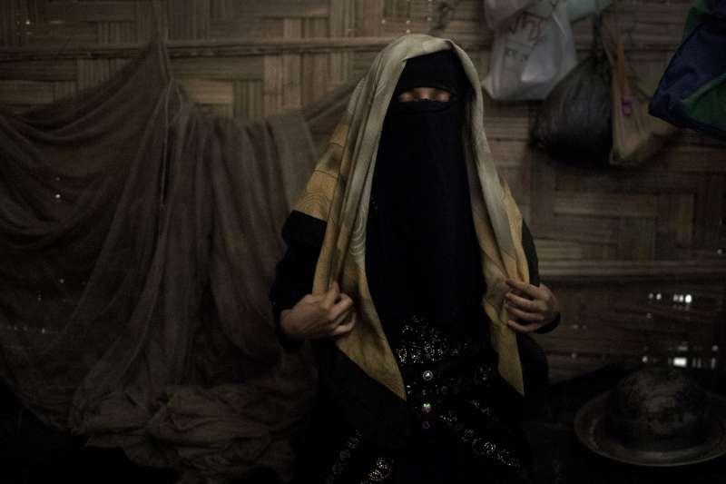 少女A擔心自己被緬甸軍強暴後,再也沒有人願意娶她。(美聯社)