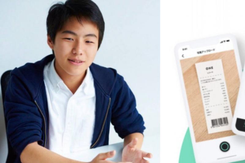 這位年僅 17 歲的高中生,開發出 App 讓民眾能將往常毫無用處的收據,拿來換取獎金。(圖/取自官方部落格、TechCrunch,智慧機器人網提供)