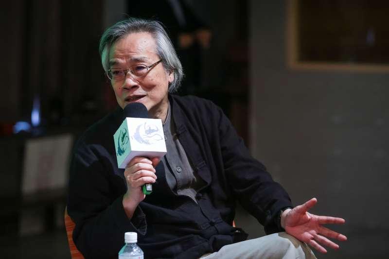 20180707-上報董事長王健壯7日出席「思沙龍 1968:形形色色的造反」講座。(顏麟宇攝)