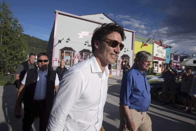 加拿大總理杜魯道捲入「Me Too」風暴(AP)